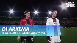 Le résumé de Guingamp / PSG : D1 Arkema
