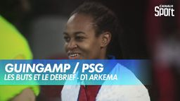 Les buts de Guingamp / PSG : D1 Arkema