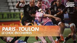 Les chiffres du choc Stade Français / Toulon : Top 14