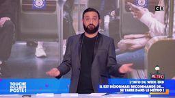 """""""se taire dans le métro"""" : Cyril Hanouna pousse un gros coup de gueule dans TPMP"""