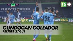 Gundogan goleador, City : Premier League : West Brom - Man City