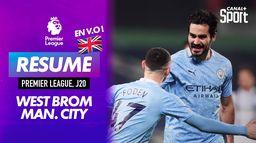 Le résumé de West Bromwich / Manchester City en VO : Premier League