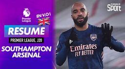 Le résumé de Southampton / Arsenal en VO : Premier League