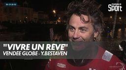 """Bestaven : """"j'ai l'impression de vivre un rêve"""" : Vendée Globe"""