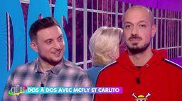 McFly & Carlito dos à dos avec Catherine Ceylac