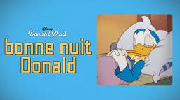Bonne nuit Donald
