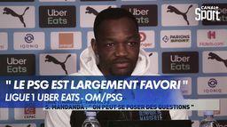 Les réactions de L'OM avant le choc face au PSG : Ligue 1 Uber Eats