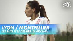 Le résumé de Lyon / Montpellier - D1 Arkema (J14) : D1 Arkema