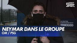 Neymar devrait être dans le groupe pour OM / PSG : Ligue 1 Uber Eats