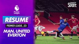 Le grand format de Manchester United / Everton : Premier League