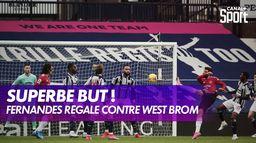 La magnifique volée de Bruno Fernandes contre West Bromwich : Premier League - 24ème journée