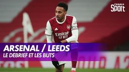 Les buts de Arsenal / Leeds - Premier League - J24 : Premier League