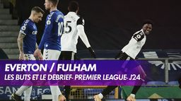 Les buts de Everton / Fulham : Premier League