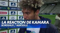 """Boubacar Kamara : """"Un très bon point"""" : Bordeaux / Marseille"""