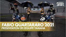 Présentation Team Yamaha de Quartararo : MotoGP 2021