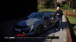 Peugeot 508 PSE : elle a mangé du lion !