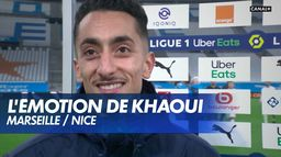 L'émotion de Saïf-Eddine Khaoui après Marseille / Nice : Ligue 1 Uber Eats