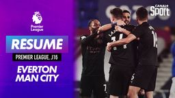 Le résumé d'Everton / Manchester City (J16) : Premier League