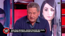 Jean-Paul Bruneau, ancien policier des stups s'exprime sur la possible légalisation du cannabis