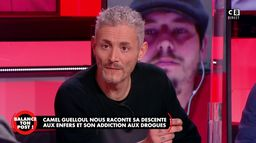 Camel Guelloul raconte sa descente aux enfers et son addiction aux drogues