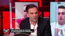 Yann Moix explique pourquoi il est contre la légalisation du cannabis