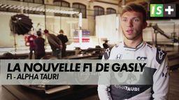 La nouvelle Alpha Tauri de Pierre Gasly : Formule 1 saison 2021