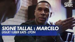 Signé Tallal : Marcelo : Ligue 1 Uber Eats
