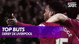 Le top buts du derby Liverpool / Everton : Premier League