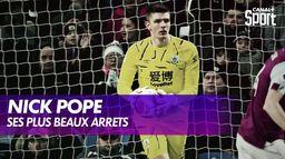Nick Pope réagit à ses plus beaux arrêts : Premier League