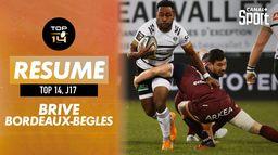 Le résumé de Brive / Bordeaux-Bègles : TOP 14