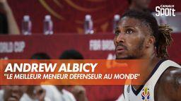 Andrew Albicy, défenseur d'élite : Équipe de France de basket