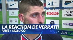 La réaction de Marco Verratti : PSG / Monaco