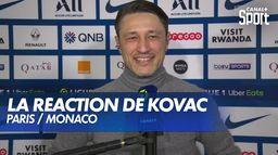 """Niko Kovač : """"Nous méritons notre victoire"""" : Paris / Monaco"""