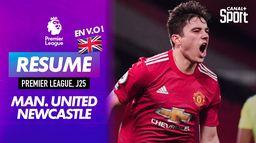 Le résumé de Manchester United / Newcastle en VO - Premier League (J25) : Premier League