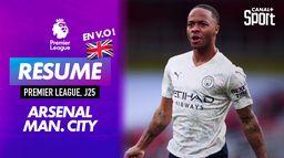 Le résumé d'Arsenal / Manchester City en VO - Premier League (J25) : Premier League