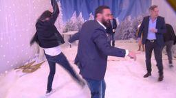 L'énorme bataille de boules de neige de Cyril Hanouna et des chroniqueurs de TPMP