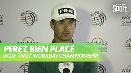 Réaction de Victor Perez : WGC Workday Championship - 1er Tour