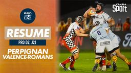 Le résumé de Perpignan / Valence-Romans : PRO D2