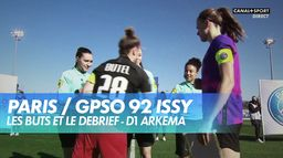 Les buts de Paris / GPSO 92 Issy - D1 Arkema : D1 Arkema