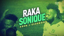Le résumé d'Agen / Clermont : Canal Rugby Club