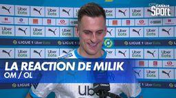 La réaction de Milik après OM / OL : Ligue 1 Uber Eats