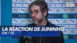La réaction de Juninho après OM / OL : Ligue 1 Uber Eats