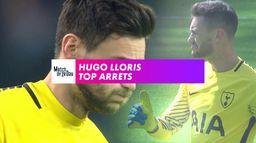 Hugo Lloris top arrêts : Premier League
