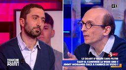 La confrontation entre Fabrice Di Vizio et Jimmy Mohamed sur un confinement le week-end