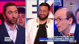 """Jimmy Mohamed à Fabrice Di Vizio : """"Vous faites un sketch en plateau !"""""""