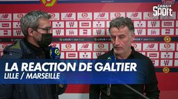 La réaction de Christophe Galtier après Lille / Marseille : Ligue 1 Uber Eats