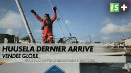 Le dernier skipper à l'arrivée du Vendée Globe : Vendée globe