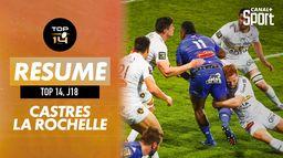 Le résumé de Castres / La Rochelle : Canal Rugby Club