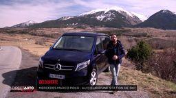 Mercedes-Benz Marco Polo: au cœur d'une station de ski !