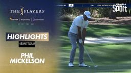 Highlights Phil Mickelson : The Players - 4ème tour